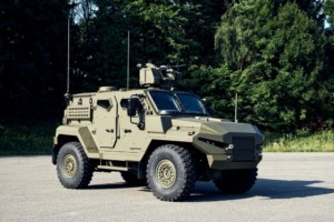 obrněné vozidlo Patriot 4x4 Tactical APC / Foto zdroj: Tiskový servis CZECHOSLOVAK GROUP