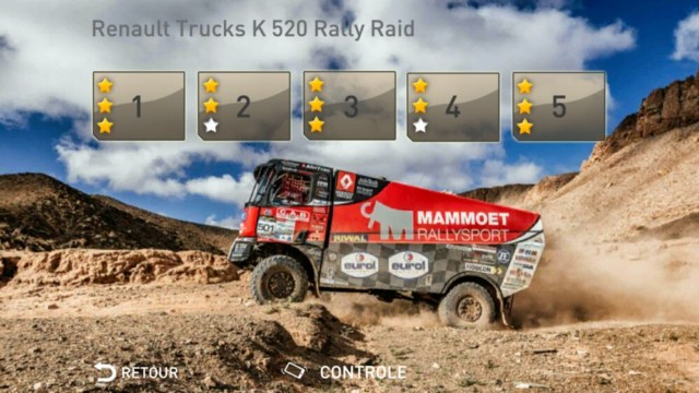 Nový hrací modul dálkové rallye rozšiřuje aplikaci Renault Trucks Simulator / Foto zdroj: Volvo Group Czech Republic, s.r.o.