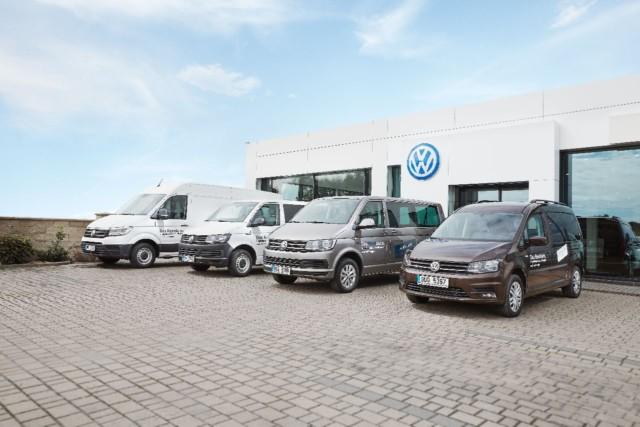 Zájem o vozy způjčovny Das RentAuto dynamicky roste / Foto zdroj: Porsche Česká republika s.r.o. Divize Volkswagen Užitkové vozy,