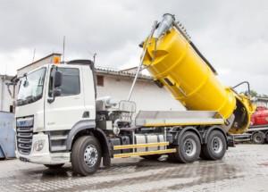 Nový DAF CF 430 FAT 8x4 s cisternovou nástavbou od společnosti IBOS / Foto zdroj: DAF Trucks CZ, s.r.o.