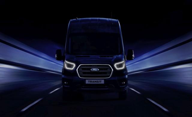 Ford představí v Hannoveru novou generaci užitkových vozů Transit s elektrifikovaným pohonem a zabudovanou konektivitou / Foto zdroj: Ford Czech Republic