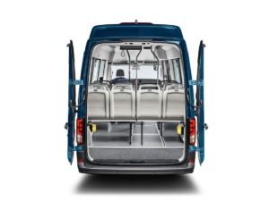 Více možností pro každodenní práci: Výrobci nástaveb vystavují vexpozici značky Volkswagen Užitkové vozy na IAA více než 50 inovativních nástaveb / Foto zdroj: Porsche Česká republika s.r.o. Divize Volkswagen Užitkové vozy