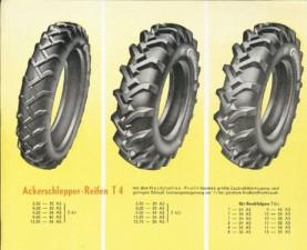 Inovace v dezénu: T4 AS – první agro pneumatika s nepropojenými bloky dezénu. / Foto zdroj: Continental Barum s.r.o.