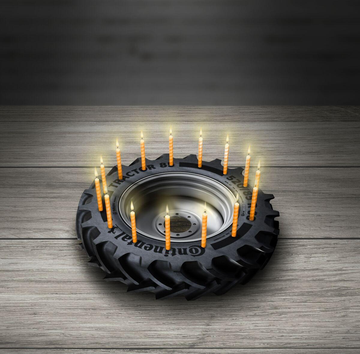 Slavíme výročí: 90 let od první zemědělské pneumatiky Continental / Foto zdroj: Continental Barum s.r.o.