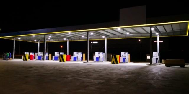 EUROWAG otevřel svůj první truck park ve Španělsku, v La Jonquera/Figueres, jen několik minut od hranic s Francií / Foto zdroj: EUROWAG – W.A.G. payment solutions, a.s.