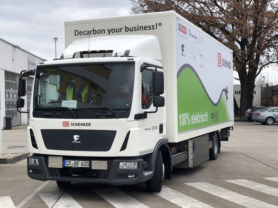 iHub umožní efektivní správu vozového parku, na vývoji se podílí také DB Schenker / Foto zdroj: DB Schenker