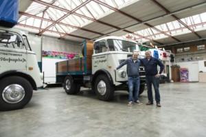Společnost DAF našla nejstarší vozidlo DAF ve službách přepravy / Foto zdroj: DAF Trucks CZ, s.r.o.