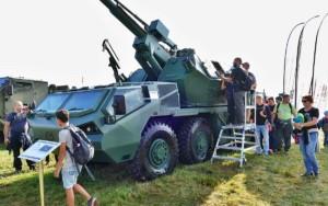 Dny NATO 2018 - DANA M2 / Foto zdroj: TATRA TRUCKS, a.s.