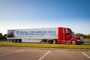 Kenworth T860 selektrickým pohonem svodíkovými palivovými články / Foto zdroj: DAF Trucks CZ, s.r.o.