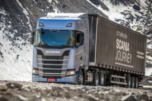 Cesta nákladních vozidel Scania napříč Latinskou Amerikou dlouhá 14 000 kilometrů / Scania Czech Republic, s.r.o.