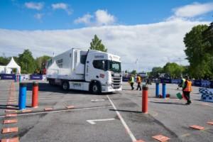 Tomáš Plášil došel až do čtvrtfinále Scania Driver Competitions. / Foto zdroj: Scania Czech Republic, s.r.o.