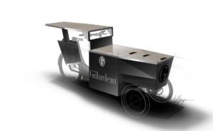 Studio Peugeot Design Lab stvořilo tříkolku pro firmu Gillardeau / Foto zdroj: © Automobiles Peugeot