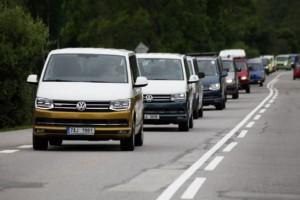 Hvězdou Transportersrazu byla nová Grand California / Foto zdroj:  Porsche Česká republika s.r.o. Divize Volkswagen Užitkové vozy