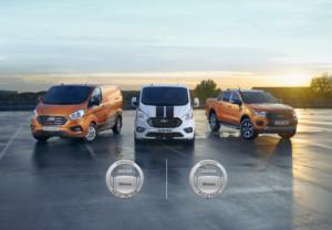 """Dvojitý zásah: Užitkové modely Ford byly vyhlášeny """"dodávkou roku"""" i """"pick-upem roku"""" 2020 / Foto zdroj: Ford Czech Republic"""