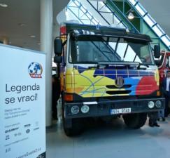 VKopřivnici byl odhalen speciální automobil, který se vydá na expedici Tatra kolem světa 2 / Foto zdroj: TATRA TRUCKS a.s.